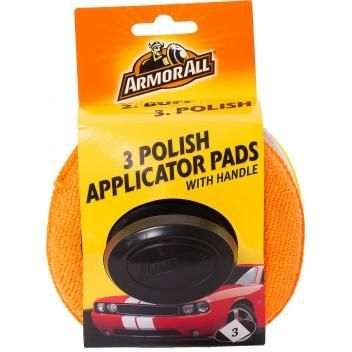 Armor All 3 Polish Applicator Pads with Handle, 40015EN