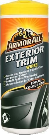 Armor All Exterior Trim Wipes, 30 Wipes, 84030EN