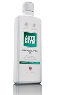 Autoglym Bumper & Trim Gel. Revives Colour Protects Exterior Plastics, Vinyl & Rubber. 325ml