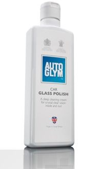 Autoglym Car Glass Polish, For Crystal Clear Finish Inside & Out. 325ml.