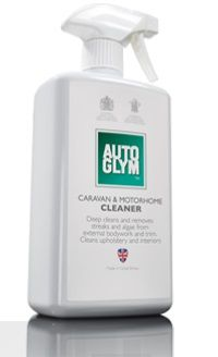 Autoglym Caravan and Motorhome Cleaner. Removes Stubborn Streaks & Algae. 500ml. Trigger