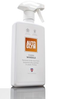 Autoglym Clean Wheels, Removes Brake Dust From Lacquered Alloy Wheels. 500ml Trigger