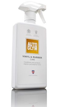 Autoglym Vinyl & Rubber Care. Conditions & Protects Interior & Exterior Trim. 500ml. Trigger