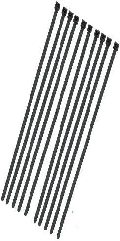 Cable Ties, Black, 368mm x 4,8mm, Pack Of 10, CT370BL