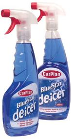 CarPlan Blue Star De-Icer Powerful Formula Melts Ice Quickly & Effectively. 500ml Trigger. TDI501