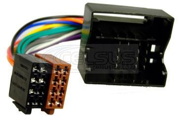 Celsus Car Audio ISO Lead. BMW To Quadlock. AIS2103