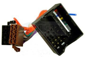 Celsus Car Audio ISO Lead. Citroen, Renault & Peugeot Quadlock. AIS2161