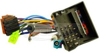 Celsus Car Audio ISO Lead. Vauxhall With Antenna Adaptor - Quadlock. AIS2158A