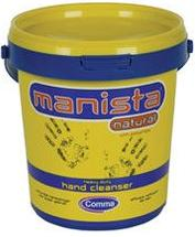 Comma Manista Natural Hand Cleanser With Polychips. 2 Sizes Available
