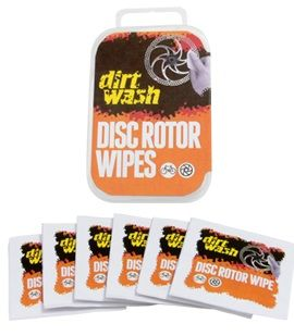 Dirtwash Disc Rotor Wipes 6 Pack. 04022