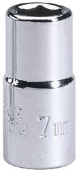 "Draper Expert 1/4"" Square Drive Metric Sockets, Sizes 4mm To 13mm Available"