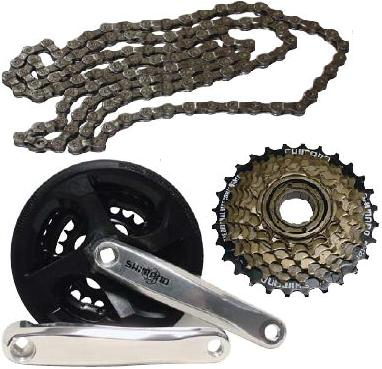 Drivetrain, Chains & Freewheels