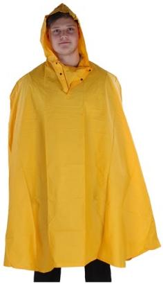ETC Water Resistant Cycle Cape Unisize. CLW330YEL