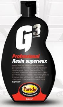 Farecla G3 Professional Resin Superwax, Step 4, 500ml.