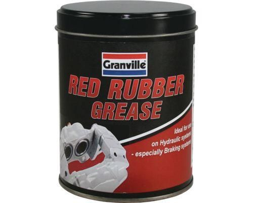 Granville Red Rubber Grease, For Brake Piston Seals 500g. 0846