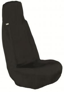 HDD Universal Front Seat Cover, Black, UFBLK-201