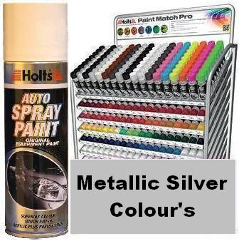 Holts Paint Match Pro 300ml Aerosol Metallic Silver Colours | Holts Paint Match Pro In Carlisle Cumbria
