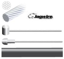 Jagwire Brake Cables, 1.5mm InnerCables, Barrel Or Pear Nipple Available & 5mm Black Outer Cable