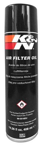 K&N Air Filter Oil - 14.36 fl oz. 408ml. 99-0516EU