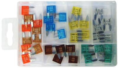 Mini Blade Fuses Assorted Pack. PMA100