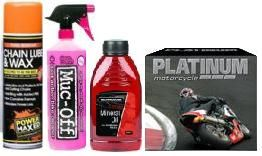 Motorcycle Cleaning & Maintenance
