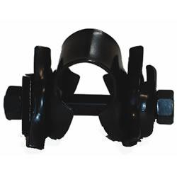 Oxford Saddle Clamp, Fits All Standard Railed Saddles, Black, SA889
