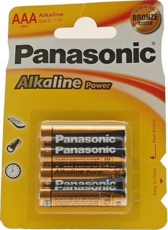 Panasonic AAA Alkaline Special Power Batteries | Batteries in Carlisle Cumbria