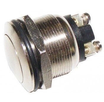 Plated Brass Horn/Starter Button Switch, PWN954