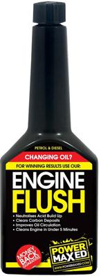 Power Maxed Engine Flush For Petrol And Diesel Engines 325ml. SPOPMEFT