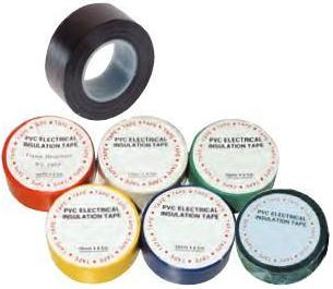 PVC Insulating Tape 19mm x  4.6M . 7 Colours Available