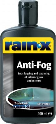 Rain-X Anti-Fog Eliminates Fogging & Steaming Of Interior Glass & Mirrors 200ml. 81199