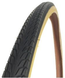 Raleigh Bike Tyre 700 X 38C Pioneer Arrow Tread Amberwall. T1531