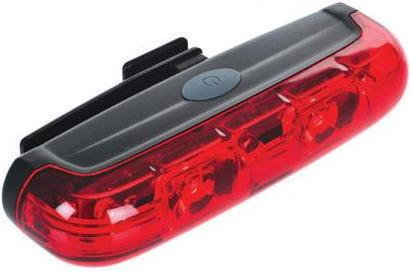 Raleigh Evolve 2 0.5 Watt LED's Super Bright Rear Light. LAA752