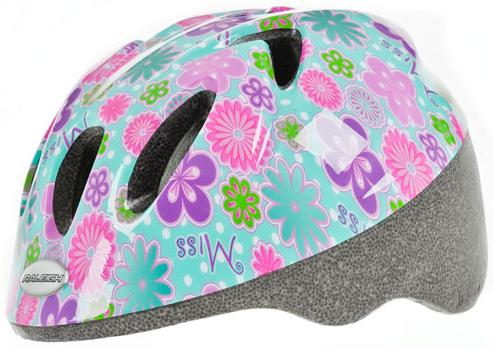 Raleigh Rascal Girls Junior Helmet, The Ideal Helmet For The Smaller Head Size. 44-50cm. CSH996