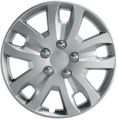 "Ring Gyro Wheel Trims, Modern Design Covers Available For 14"", 15"" & 16"" Wheels, Set Of Four"