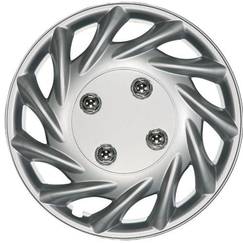 "Ring Vegas Wheel Trims, Modern Design Covers Available For 13"", 14"", 15"" & 16"" Wheels, Set Of Four"