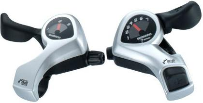 Shimano Thumb Shifters TX50, Available With 6 Speed Or 7 Speed Right Hand Shifter