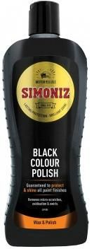 Simoniz Black Colour Polish. Restores & Waxes. Removes Swirls & Scratches. 500ml. SAPP0067A