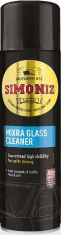 Simoniz Mixra Windscreen Cleaner, Removes Dirt & Grease 500ml. SAPP0102A
