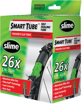 Slime Smart Pre-Filled Self Healing Inner Tubes, 11 Sizes Available