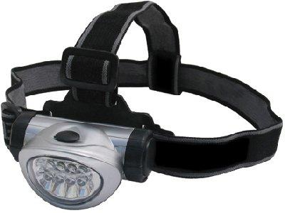 Streetwize 8 LED Head Light, Ideal For Camping, Walking Or Breakdowns. SWLR12