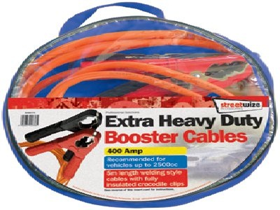 Streetwize Booster Cable 16mm², 5 Metre Length Supa Flex Welding Cable SWBC7/5