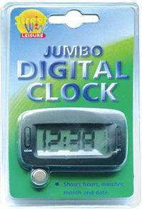 Streetwize Jumbo Digital Clock With Large Digits. SWC2