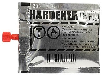 U-pol David's Isopon Hardener BPO Refill For P38, P40 & Fastglas Resin. 19.5g. H3840/S