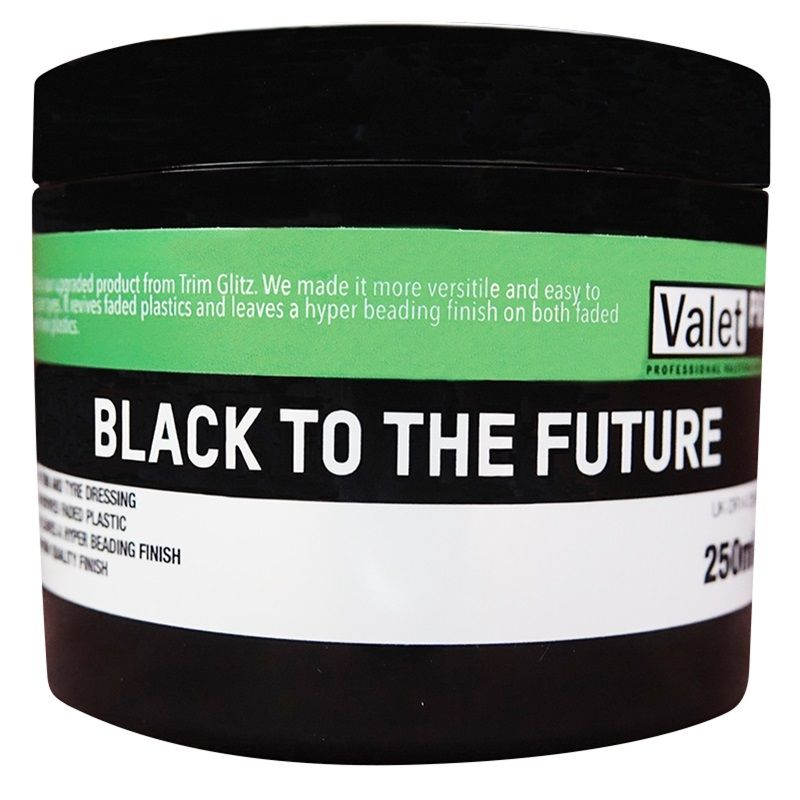 ValetPRO Black To The Future 250ml DR14-250ML | Car Surface Preparation in Carlisle Cumbria