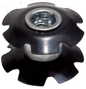 "Weldtite A Headset Star Nut 1 1/8"", 08041"