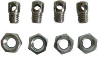 Weldtite Mudguard Draw Bolts & Nuts, Pack Of 4. 08010